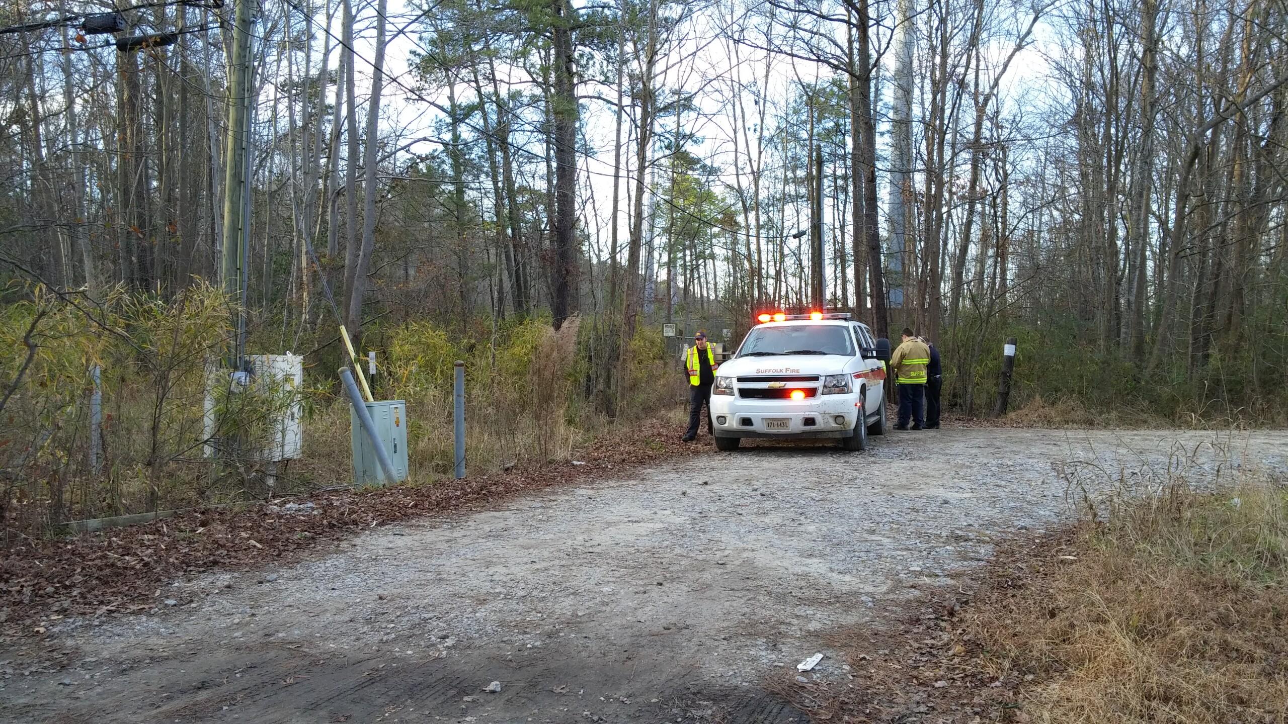 Photos: UPDATE: Plane on training flight crashes into swamp near Hampton Roads ExecutiveAirport