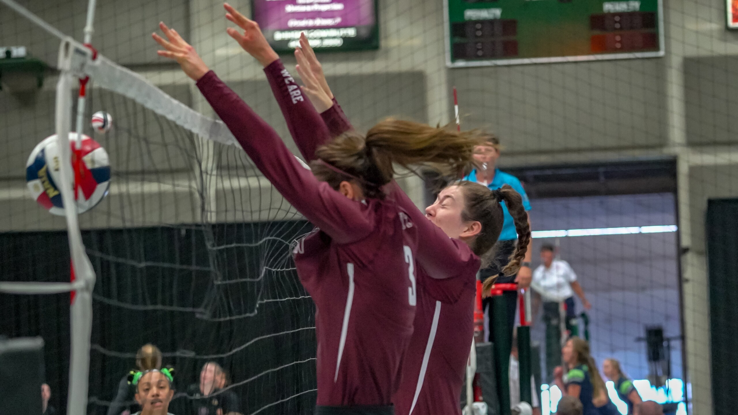 MSU-Northern volleyball