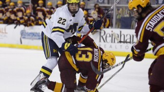 Owen Power Minnesota Michigan Hockey