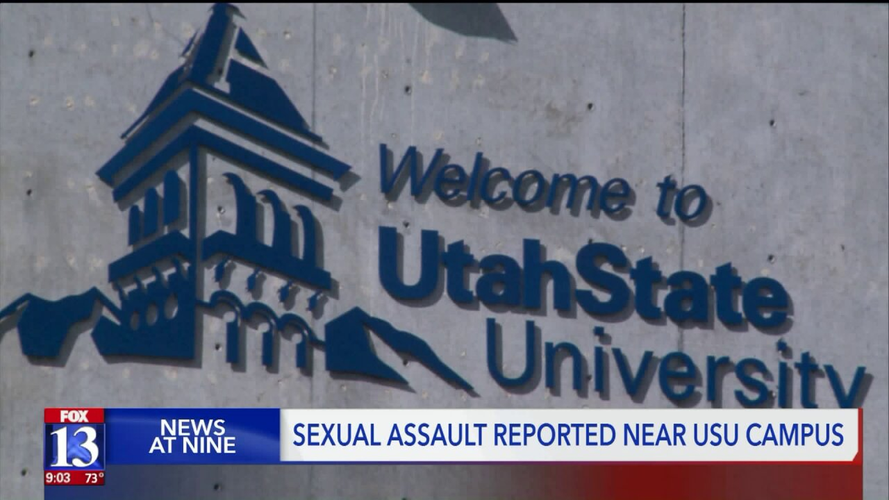 Alert sent to USU students following reported sexual assault at fraternityhouse
