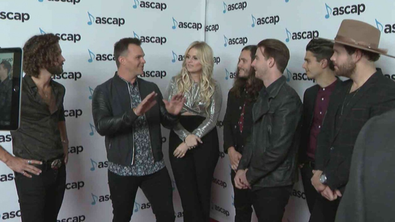 Country Stars Walk Red Carpet At ASCAP Awards