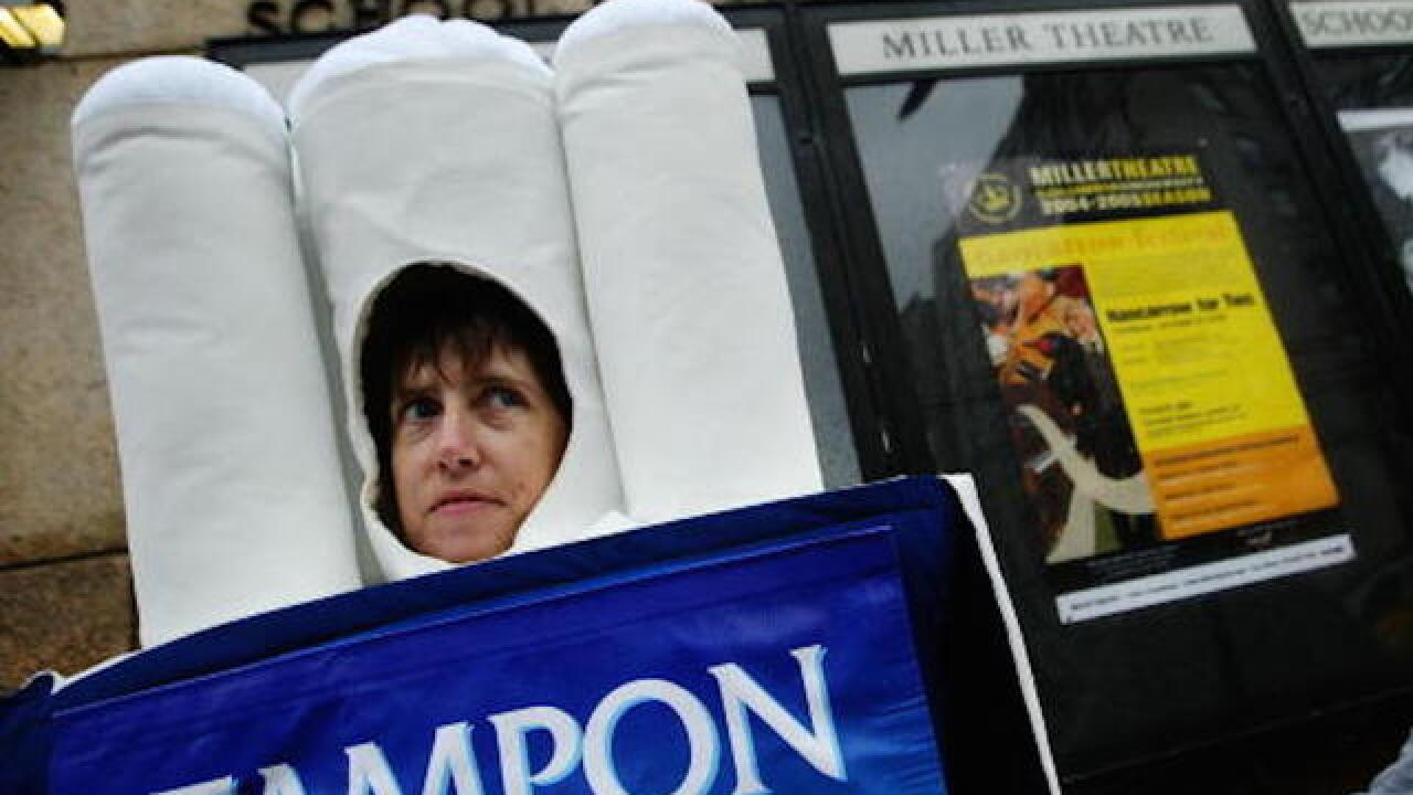 New York City passes law requiring free tampons in public schools, jails