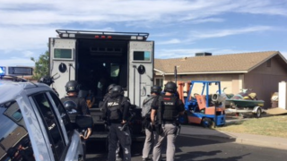 Mesa police barricade situation near Main Street and Gilbert road