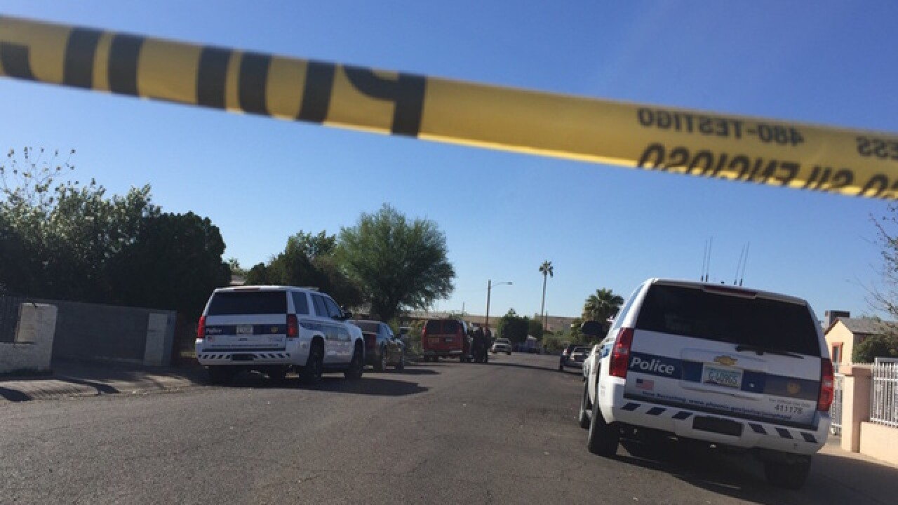 Victim has life-threatening injuries after shooting at Phoenix house