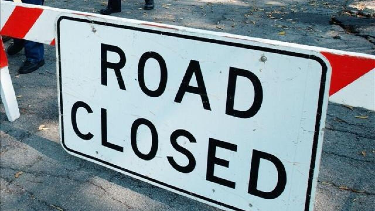 Storms cause road closures across Kern County