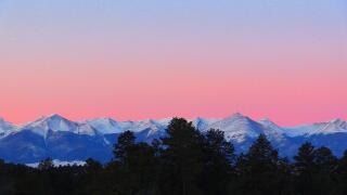 Wet Mountain Valley sunrise