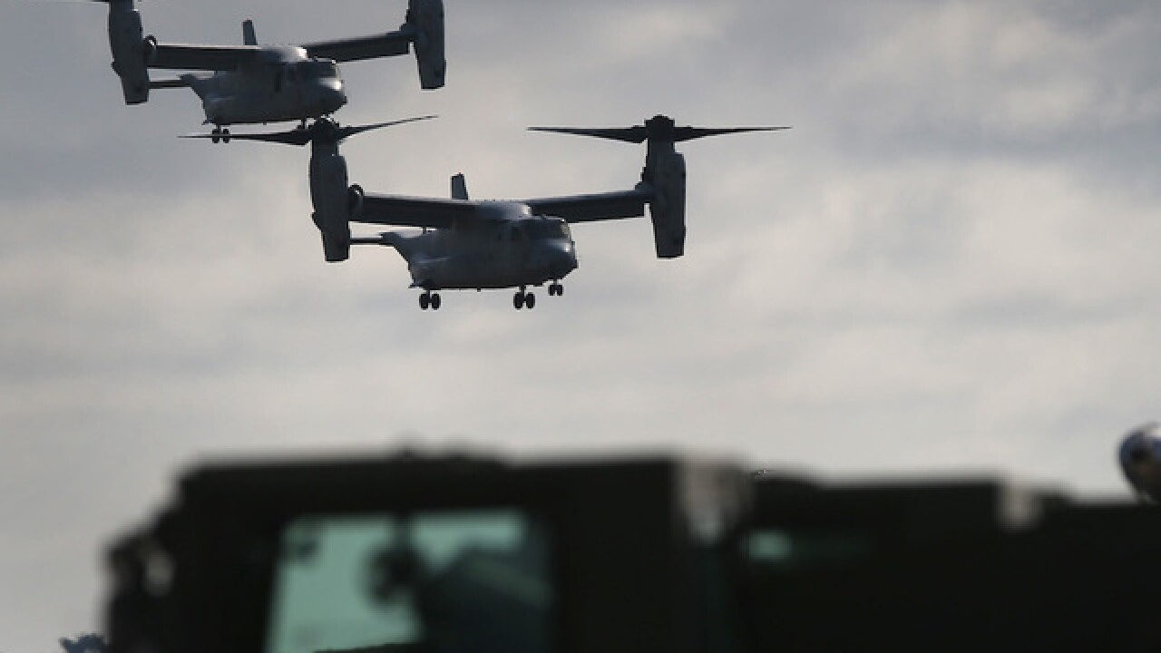 3 US Marines missing after aircraft 'mishap' near Australia