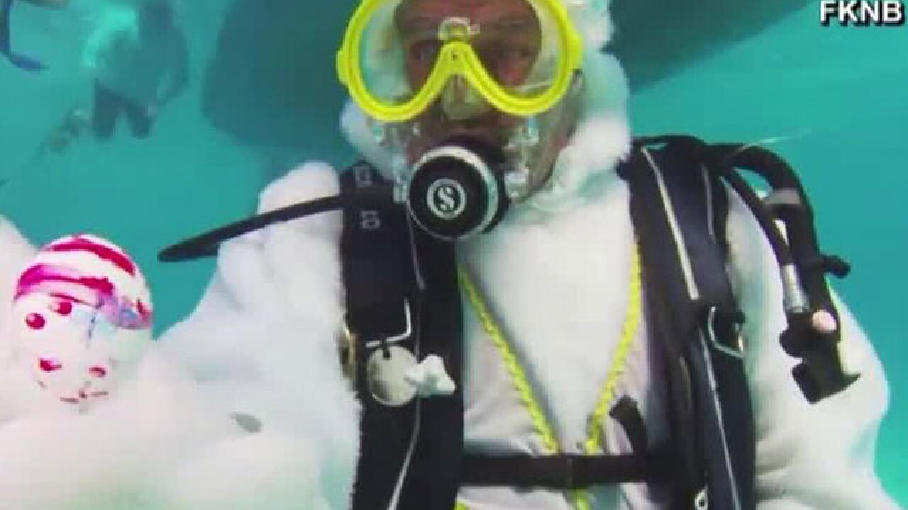Underwater Easter egg hunt held in Florida Keys