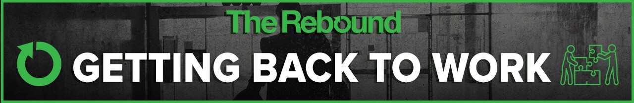 2020 The Rebound Getting Back to Work website banner