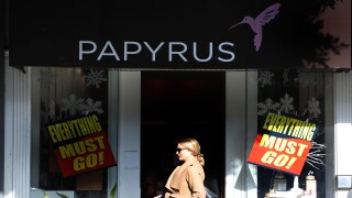 Papyrus is closing all stores nationwide