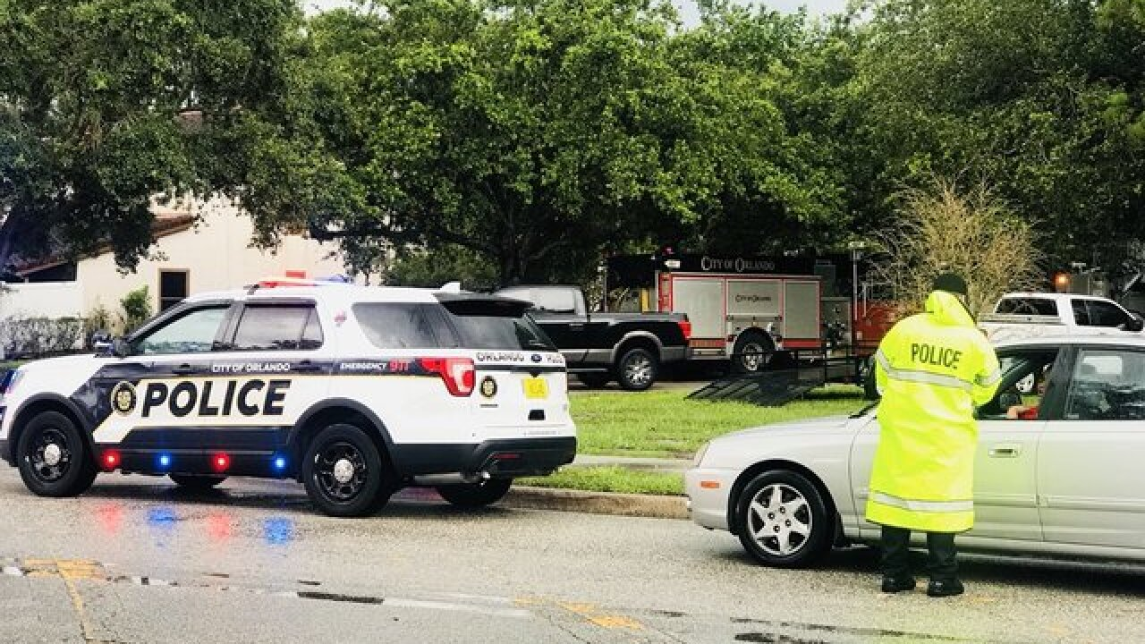 Orlando standoff suspect kills 4 kids, himself
