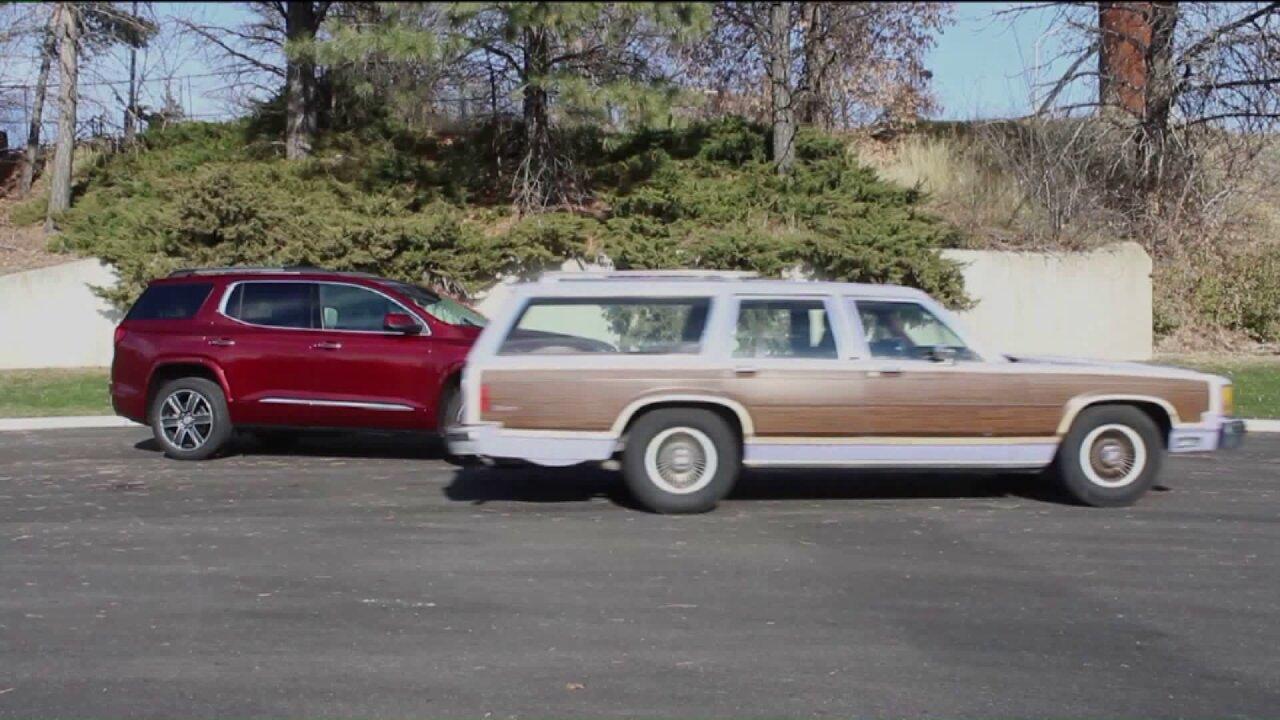 Comparing a modern crossover to a classicwagon
