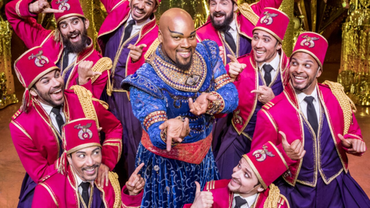 Two Michiganders to feature in Aladdin musical