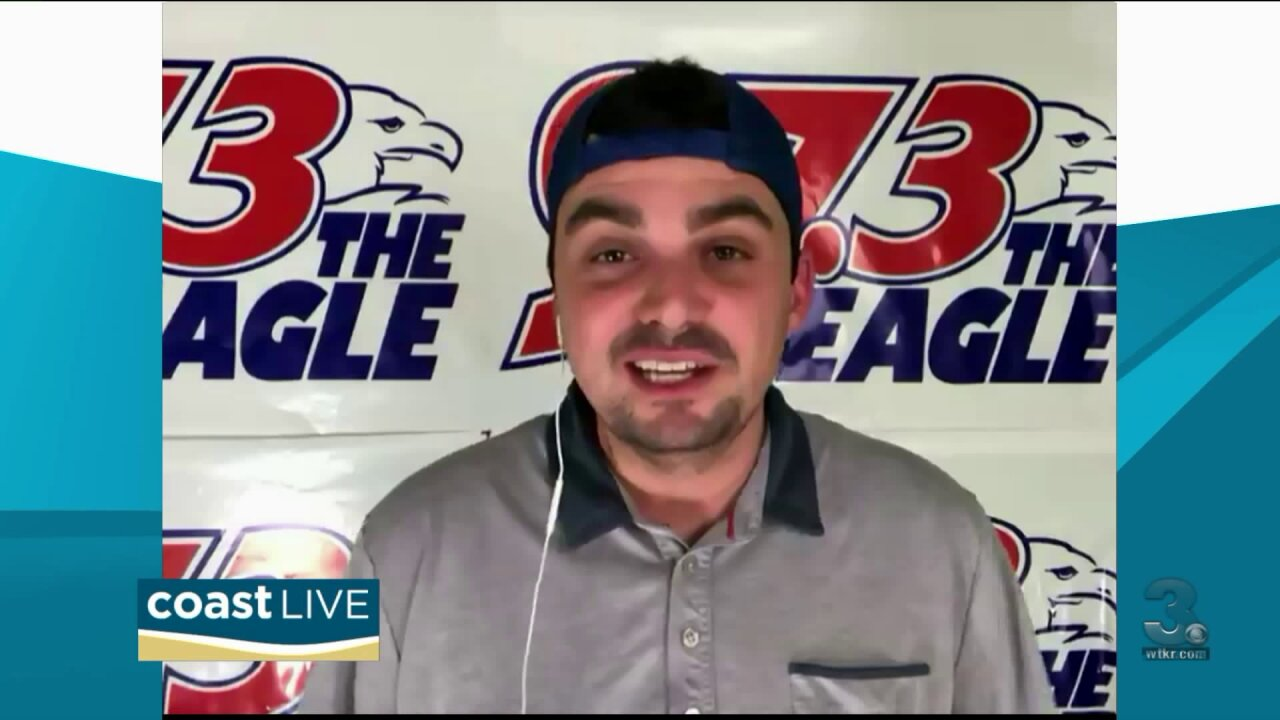 Coop has country music news from The Eagle 97.3 on Coast Live