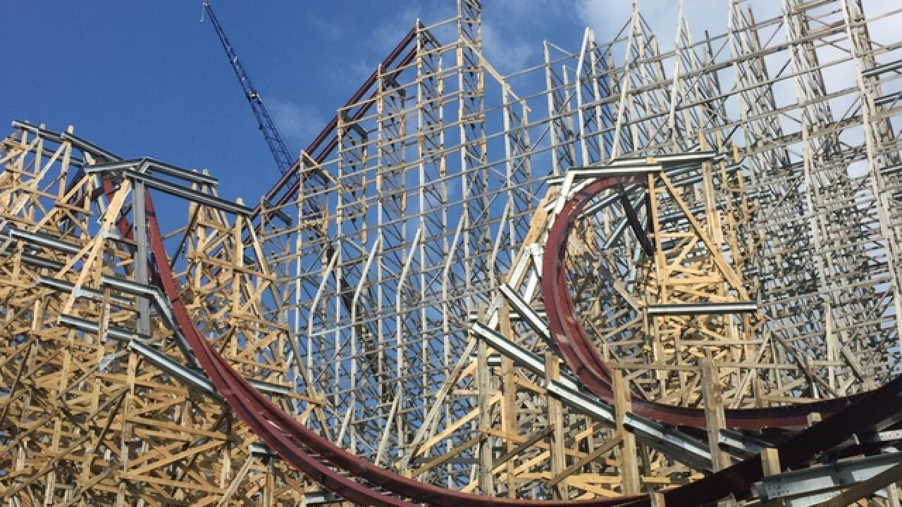Cedar Point shows off Mean Streak conversion