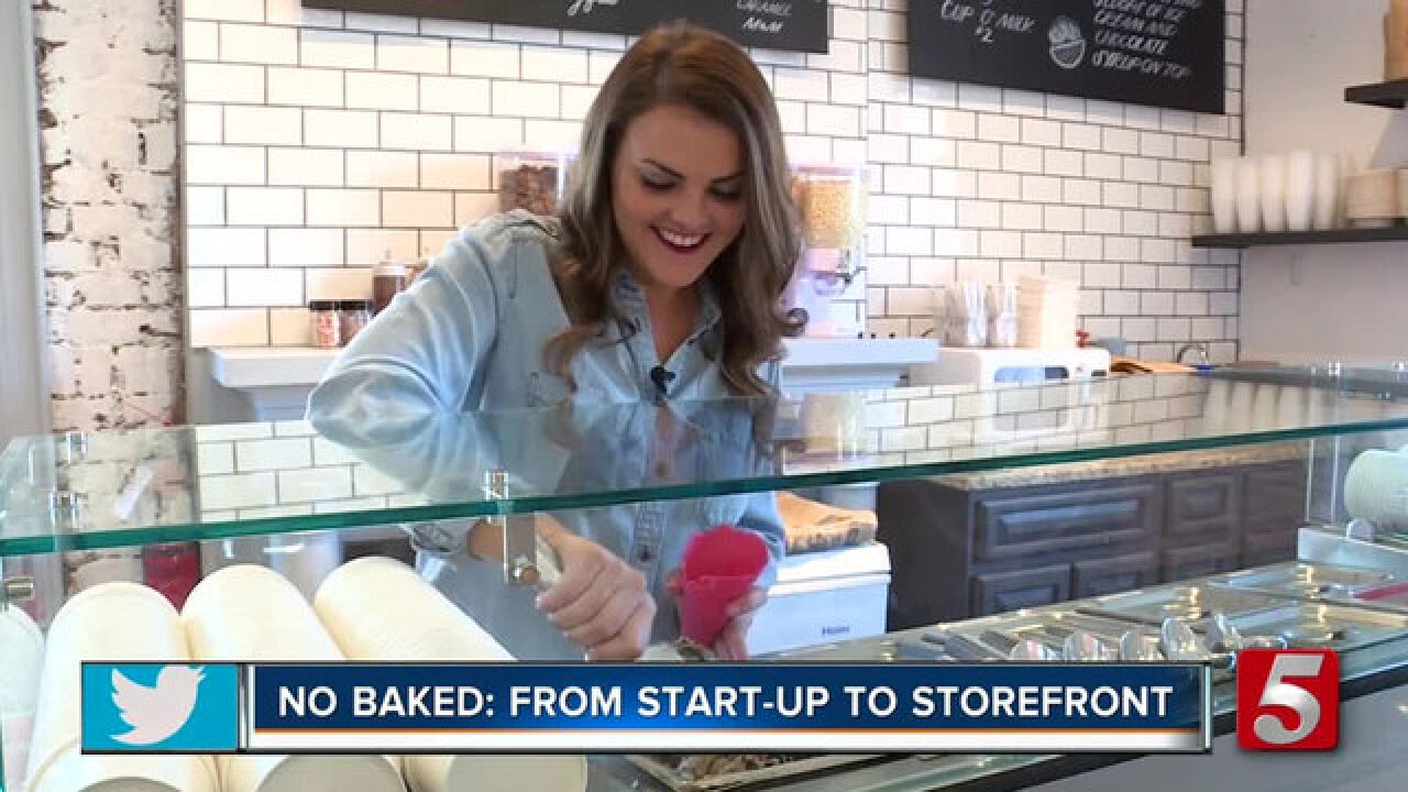 Pop-Up Cookie Dough Stand, No Baked, Goes From Start-Up To Storefront