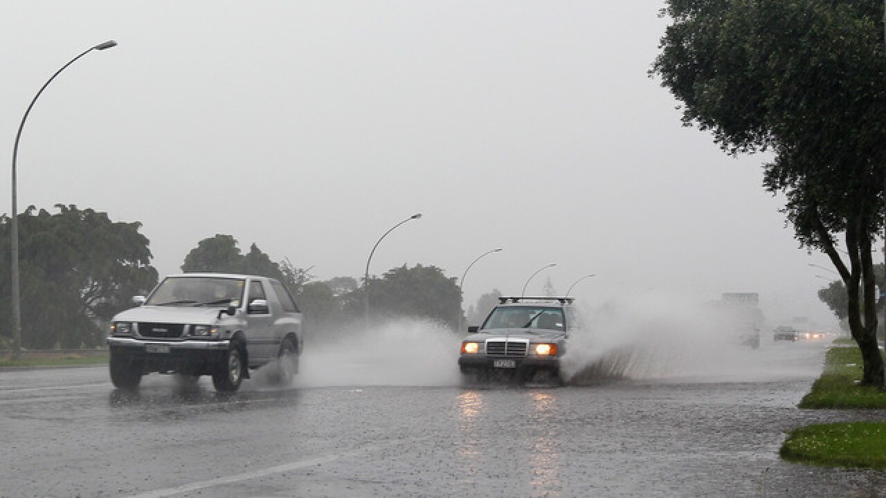 Rain showers equal wet roads! So here are some tips on how to drive safely