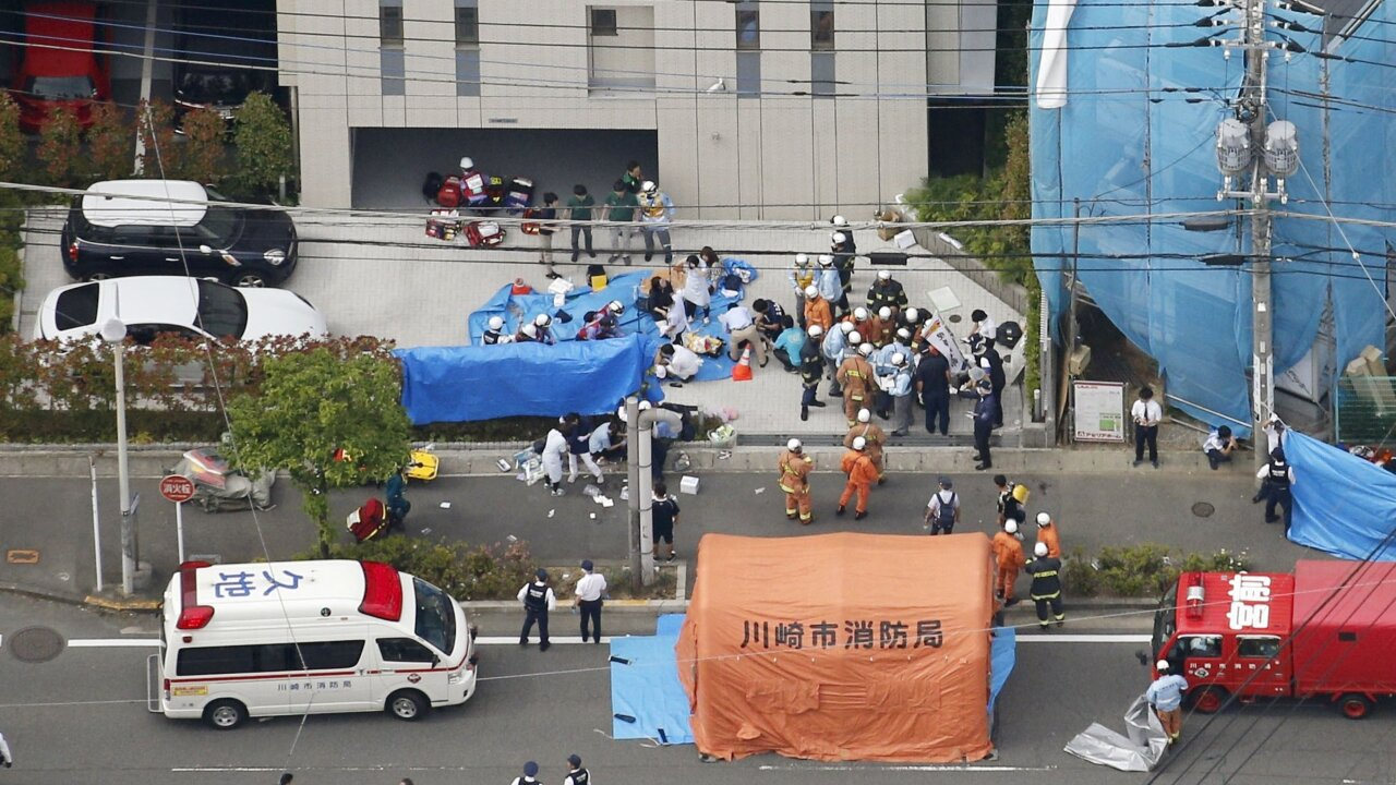 Girl killed, at least 15 schoolchildren hurt in Japan stabbing spree