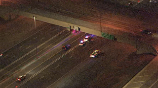 Pedestrian struck, killed on I-17