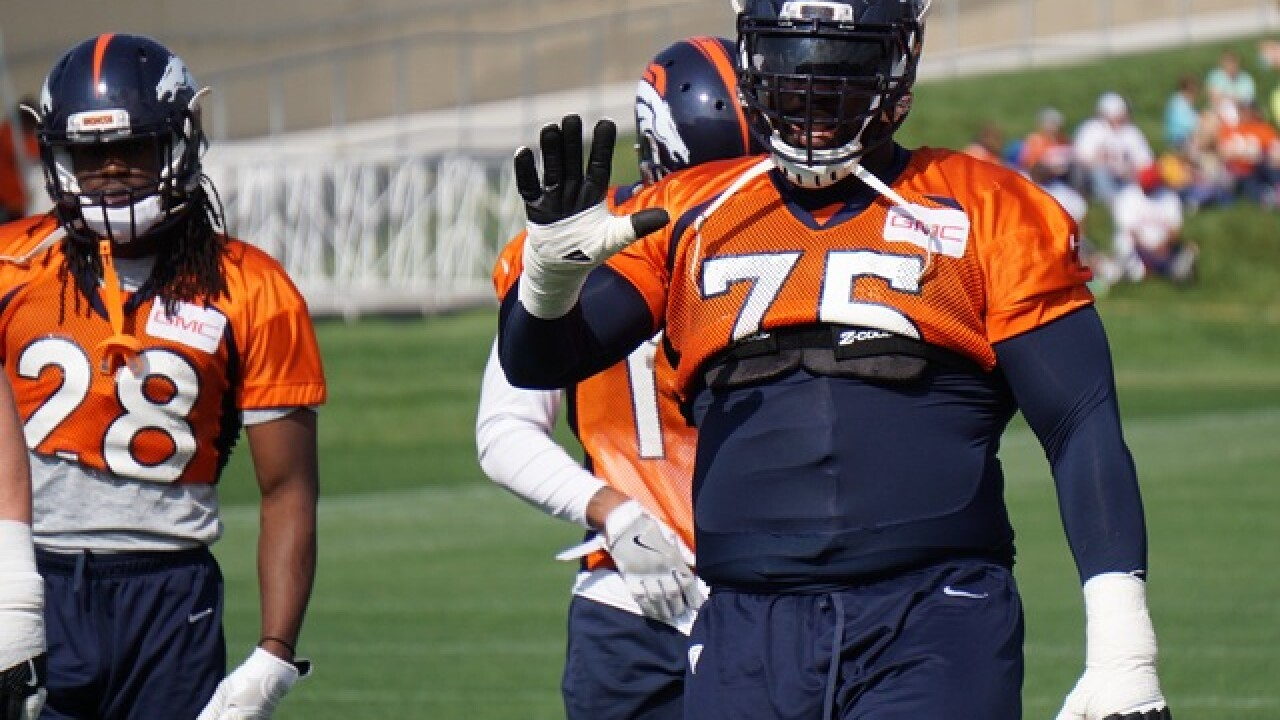 Broncos plan to release disappointing lineman Menelik Watson