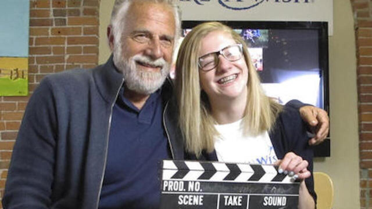 'Most Interesting Man' turns to charity