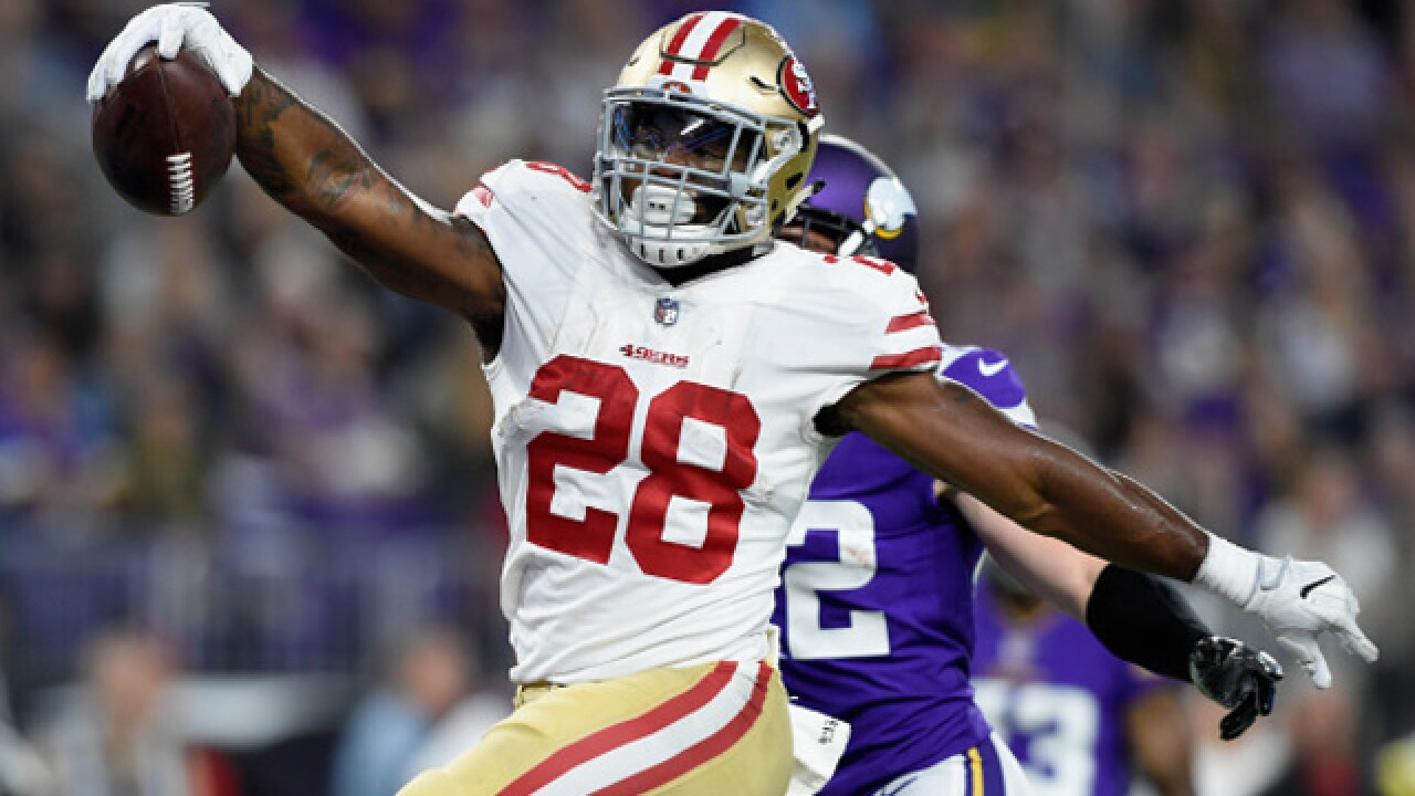 Report: Browns to sign former 49ers Carlos Hyde