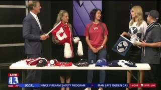 Sample the BYU and Utah swag available at Smith's