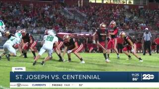 Week four of high school football and one of the undefeated teams were looking to keep their unblemished records alive! The Centennial Golden Hawks were back at home.
