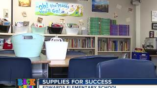 Edwards Elementary not letting lack of supplies stop them