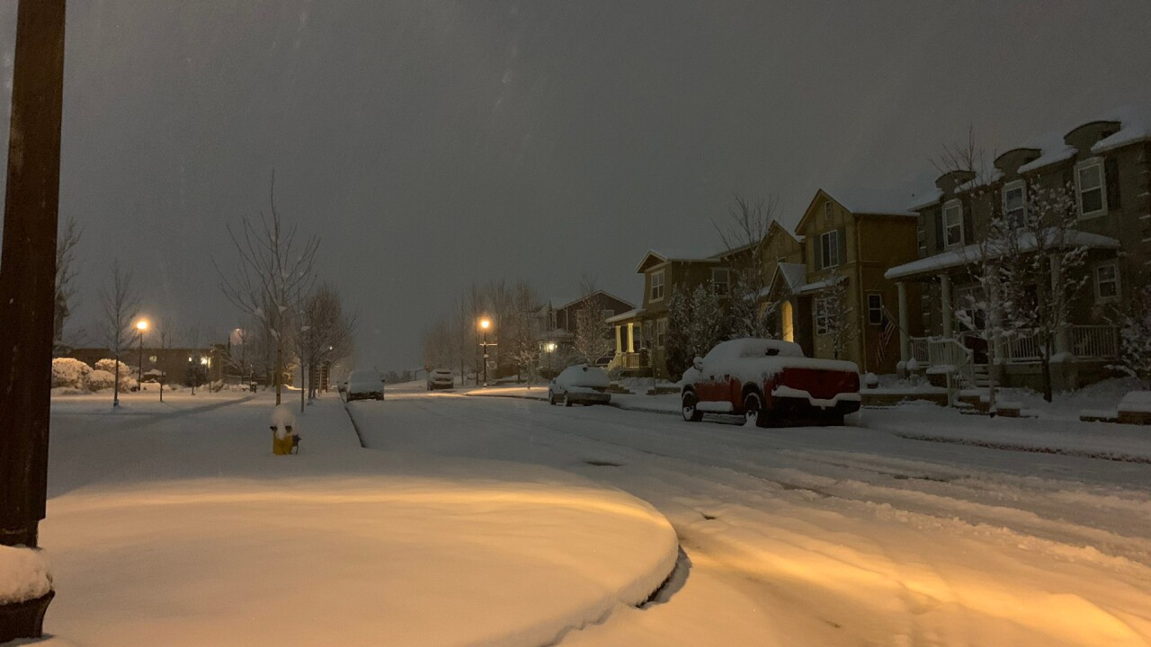 Gold Hill Mesa Snow