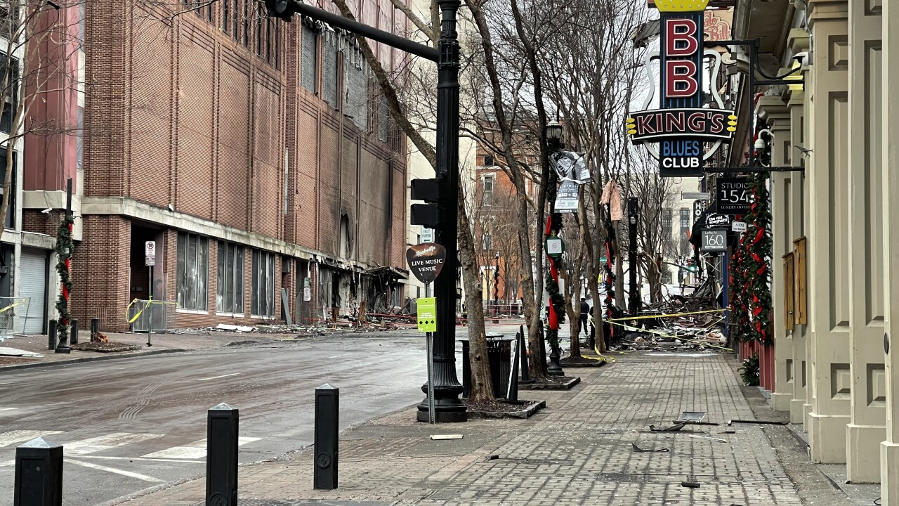 nashville bombing - 2nd avenue