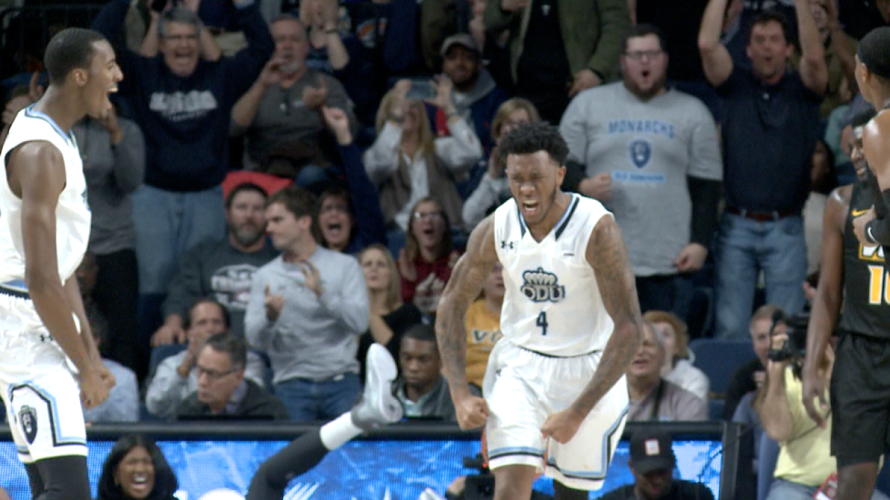 Dominant second half sparks ODU men's hoops first win over VCU since 2014