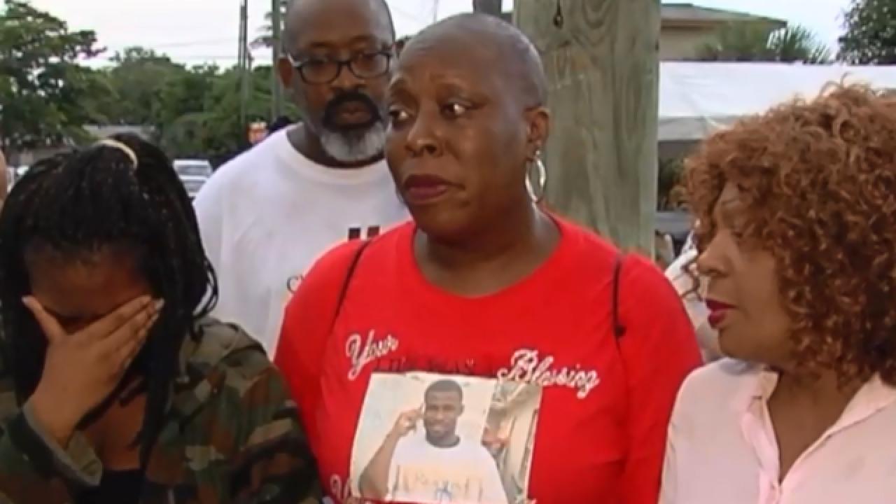 Vigil honors man killed in Riviera Beach shooting
