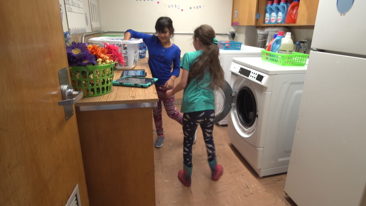 How having access to laundry facilities is changing the school experience for many kids