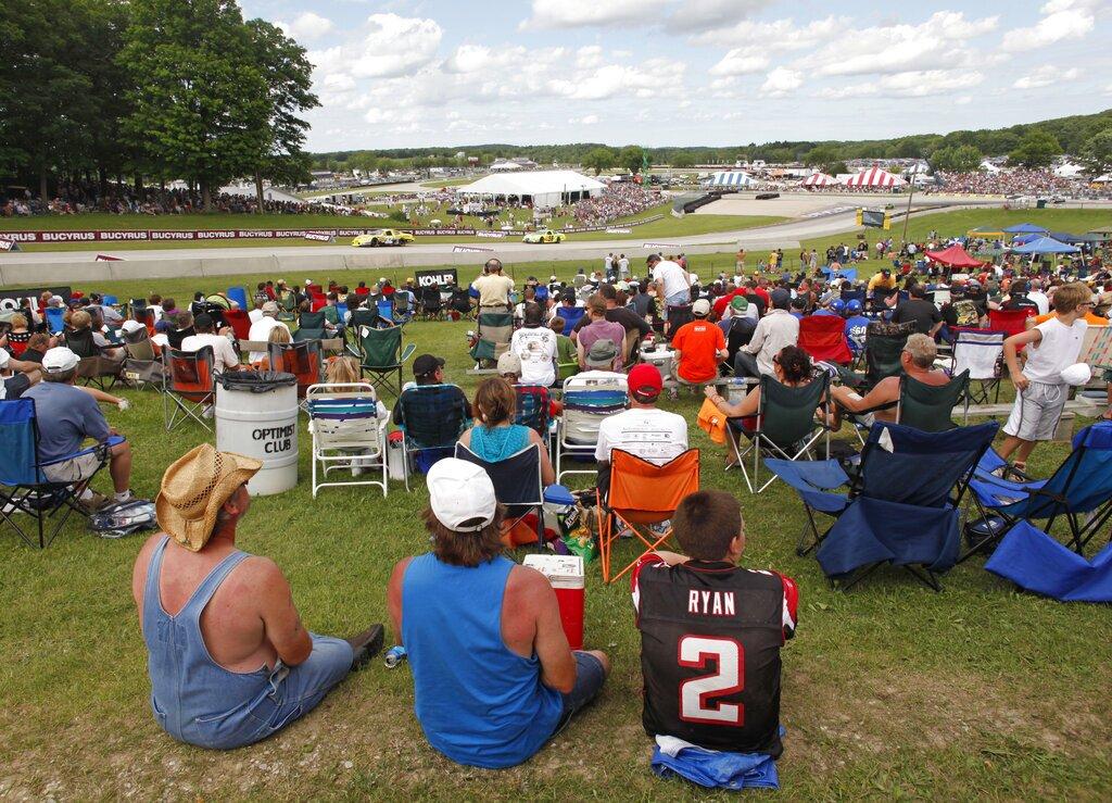 NASCAR Road America Auto Racing