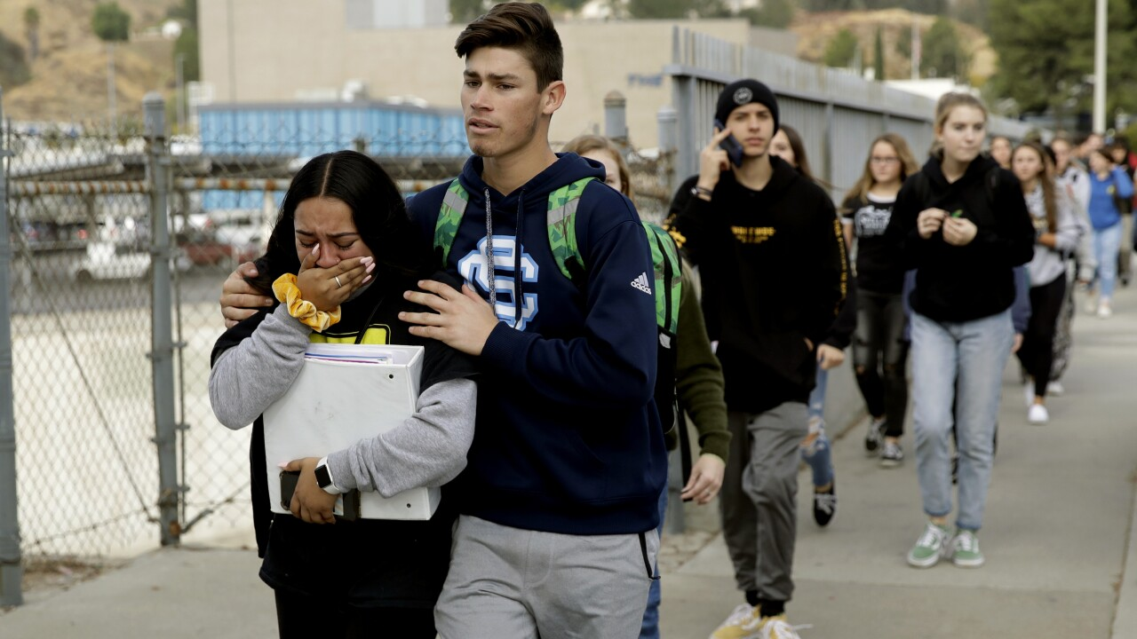 Two California high school shooting victims doing well, doctors say