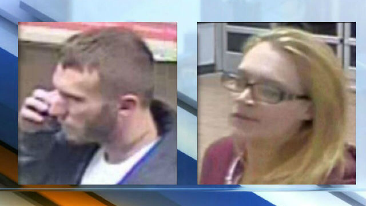 Police: Man, woman stole tires, speakers from Walmart