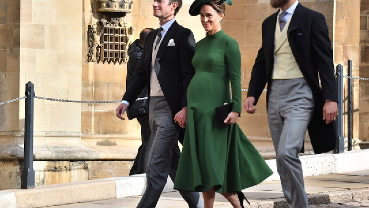 Pippa Middleton, sister of Duchess Kate, gives birth to boy