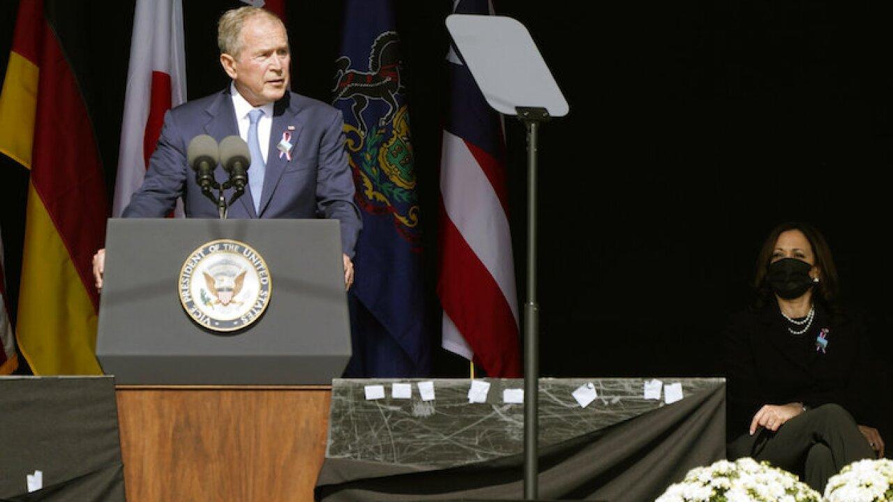 Kamala Harris, George W. Bush