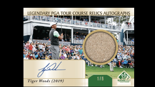 Tiger Woods SP Game Used 2021