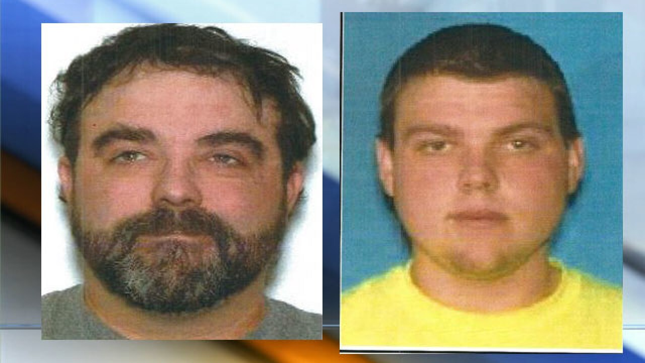 Two northeast Wisconsin men reported missing in Missouri