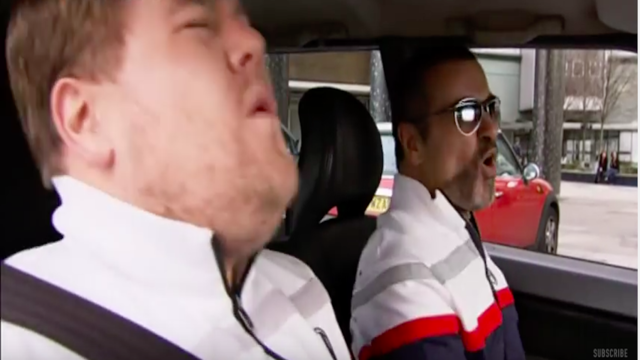 George Michael helped put 'Carpool Karaoke' on the map