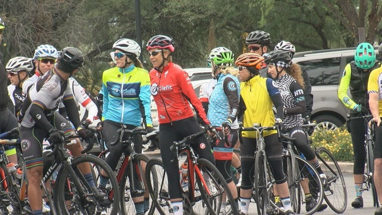 Thanksgiving Day bike ride shines a light on road safety in Pima County