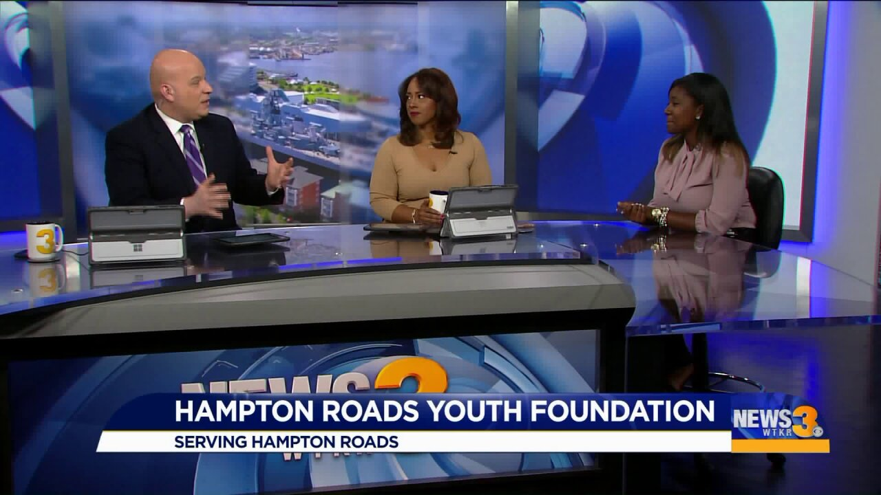Learning about the Hampton Roads YouthFoundation