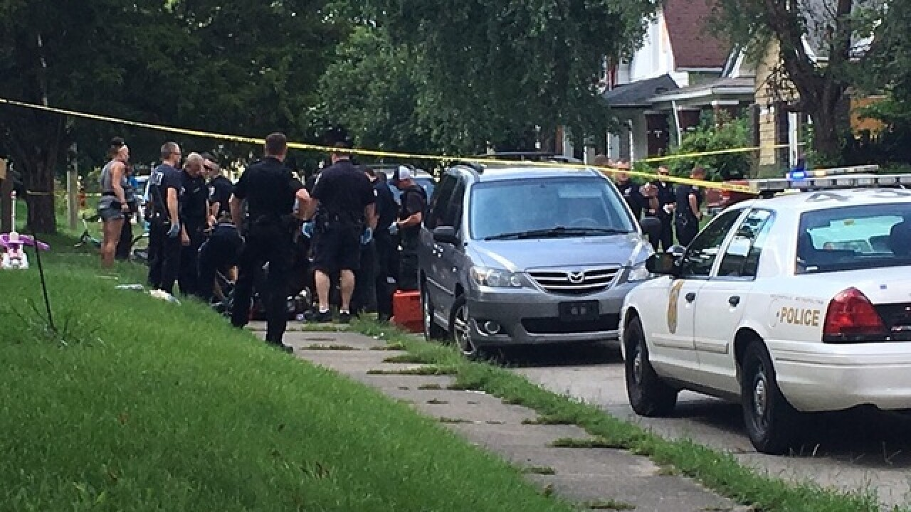 One person shot on Indy's eastside
