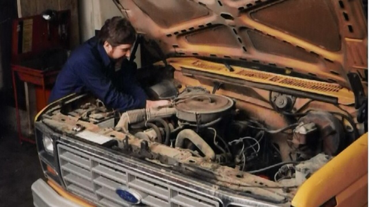Need repairs on city vehicle? Step back in time