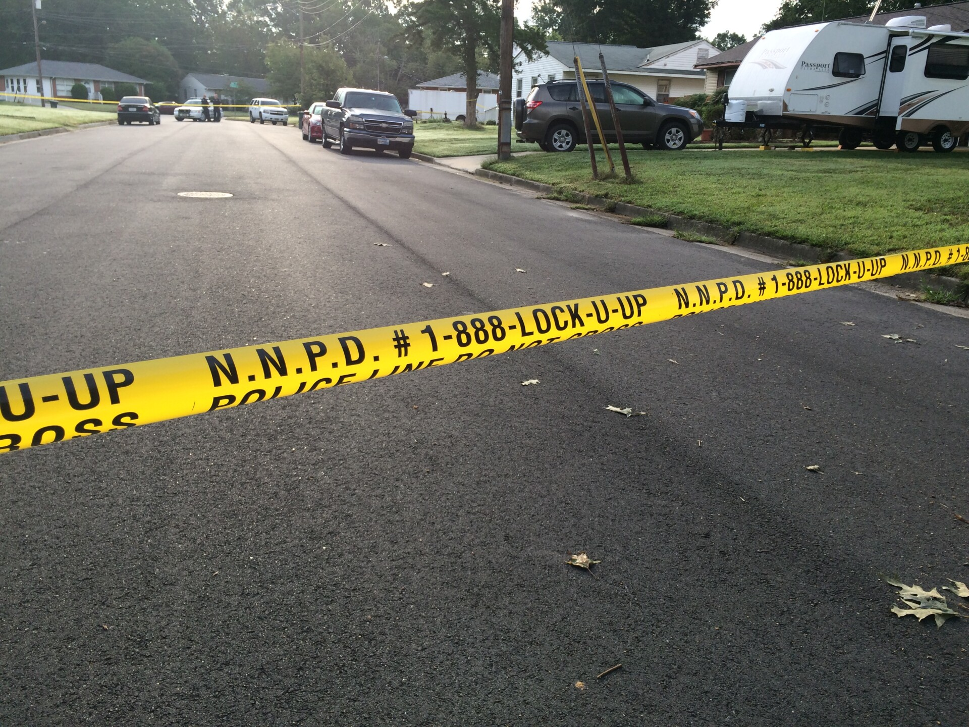 Photos: Man killed, woman injured in shooting at Newport News houseparty