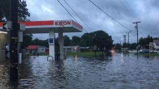 Reports of flooding, damage and road closures: EVANGELINE PARISH