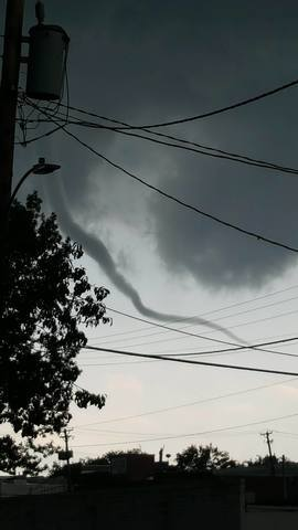 PHOTO GALLERY: Tornado touches down in Shenandoah, Iowa