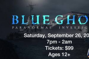Ghost hunting on the Blue Ghost